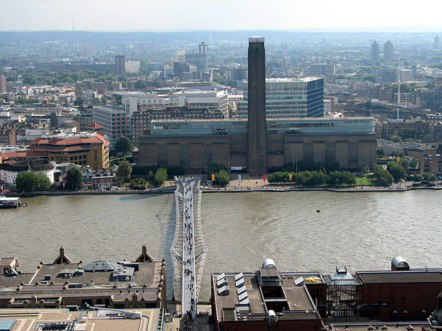 Southbank'de vakit geçirin: Jubilee Walk & Tate Modern