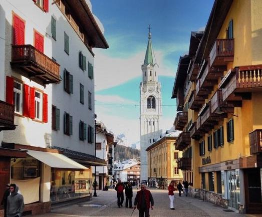 İtalya'da Kayak: Cortina d'Ampezzo