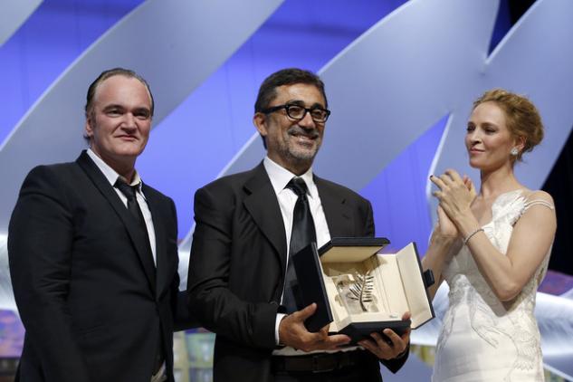 """Nuri Bilge Ceylan, 2014 Cannes Film Festivali'nde """"Kış Uykusu"""" filmi ile Altın Palmiye kazanmıştı."""