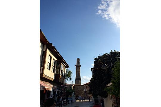 kaleici – kesik minare