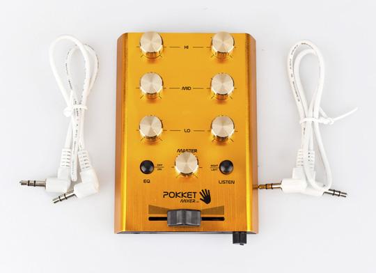 POKKET MIXER iPhone – iPad Mixer