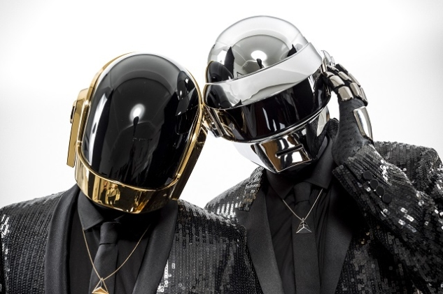 Guy-Manuel de Homem-Christo, left, and Thomas Bangalter of the French duo Daft Punk in Los Angeles.