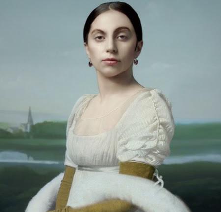 Robert Wilson ve Lady Gaga Portreleri