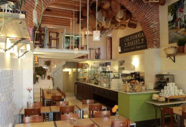 Milano'da Küçük Bir Amerikalı: California Bakery