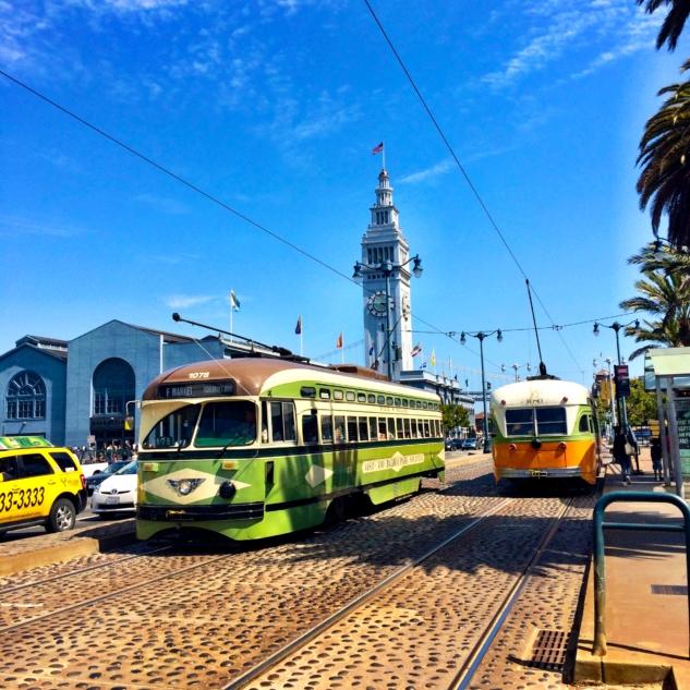san francisco – tramvaylar ve ferry building