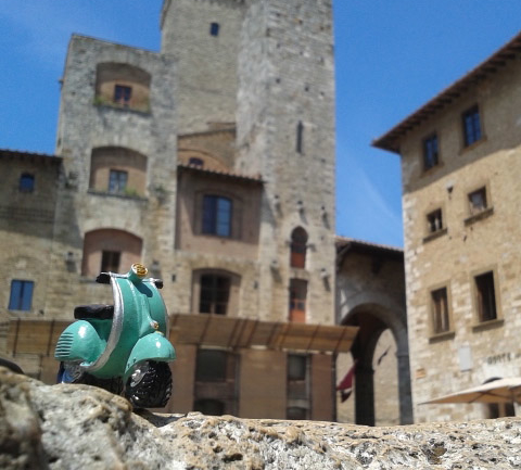 Dört Mimar, Bir Araba ve AAVespa: İtalya Road Trip