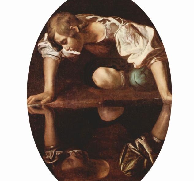Caravaggio – Narciso – 1597