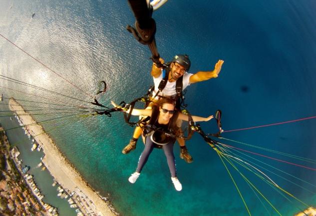 Kaş'ta (650 m. Yükseklikte!) Bir Yamaç Paraşütü Hikayesi