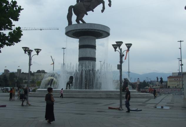 Makedonya, Haydi!: Skopje / Üsküp