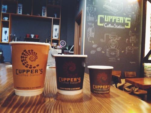 Beşiktaş'ta Kahve Molası: Cupper's Coffee Station