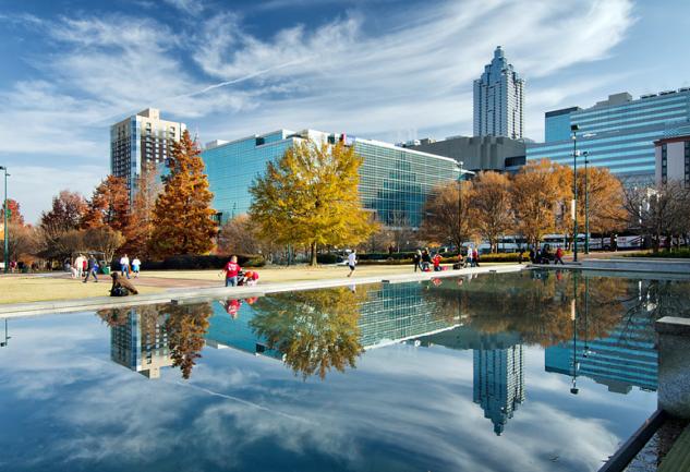 CNN, Coca-Cola ve Rap'in Başkenti: Atlanta