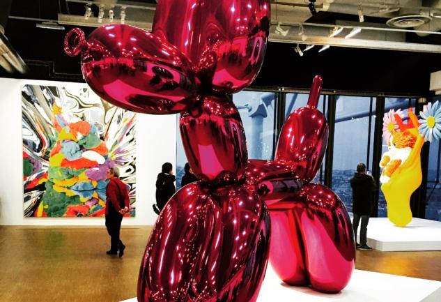 Centre Pompidou'da Renkli Bir Amerikalı: Jeff Koons Retrospektifi
