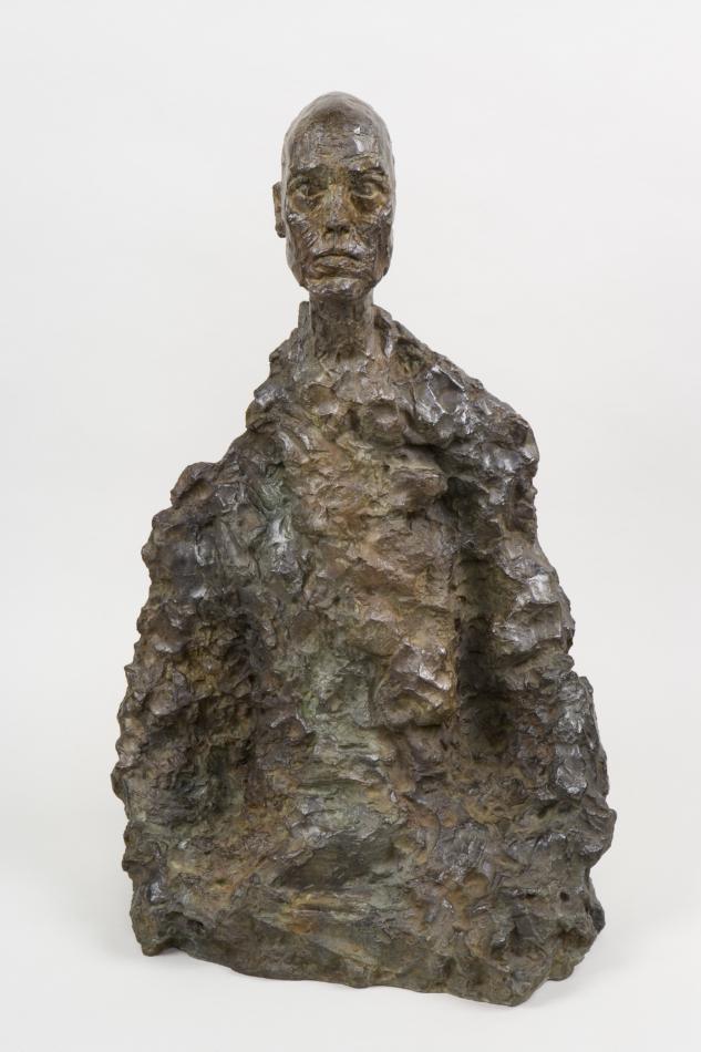 Alberto Giacometti Erkek Büstü (Lotar II), yak. 1964 1965 Bust of a Man (Lotar II), c. 1964-1965 Bronz
