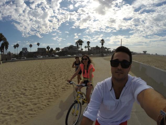 Bisikletli keşif…