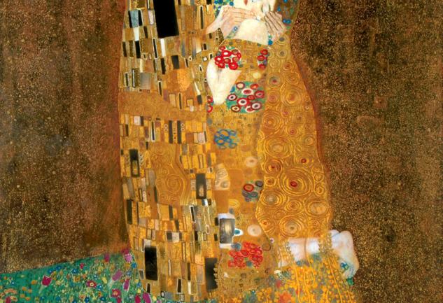 Ein Kuss von Klimt