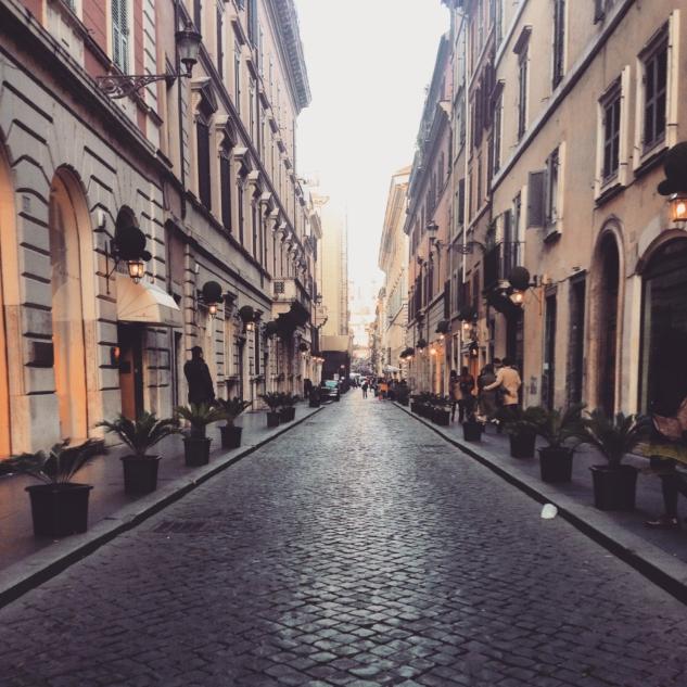 Güzel Roma Sokakları