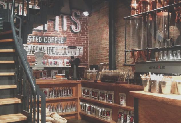 Espresso Lab: Taksim'de Şık Bir Alternatif