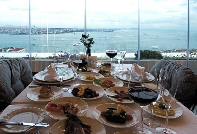 İstanbul'un Çokkültürlü Mekanı: IZAKA Restaurants & Bar-Lounge