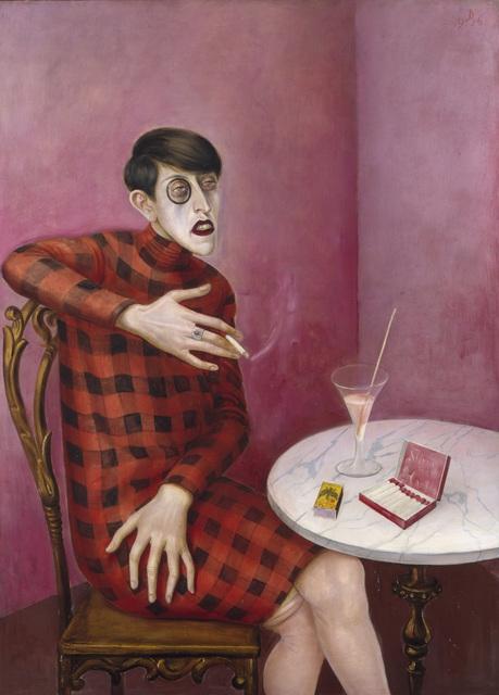 Otto Dix, Portrait of the journalist Sylvia von Harden, 1926.