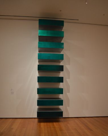 Donald Judd, Untitled (Stack), 1967
