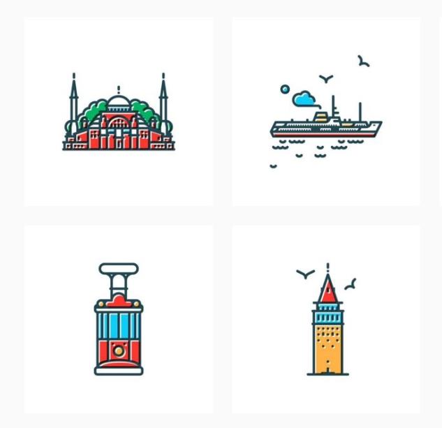 symbol cities