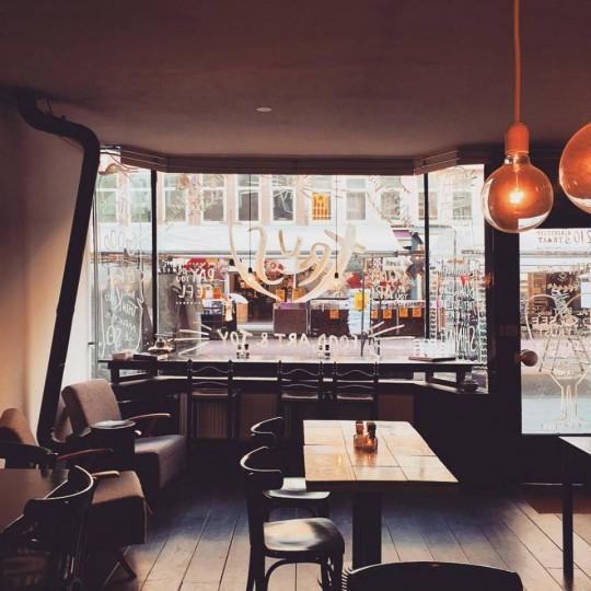 Trust Cafe: Amsterdam'ın Sebepsiz Yere Sevgi Dolu Mekanı
