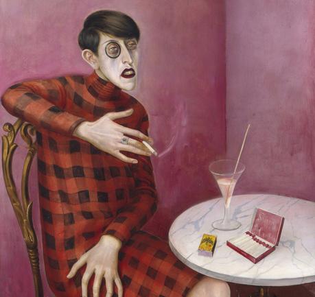 Bir Otto Dix Tablosu: Gazeteci Sylvia Von Harden'in Portresi