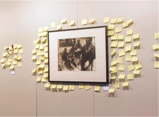 """Başka Türlü Bir """"Müzayede"""": Post-it'e Teklif Yaz, Sanat Eserini Kap!"""