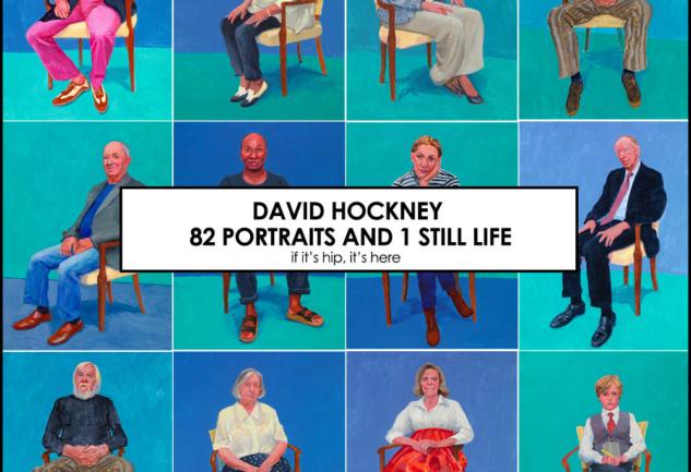 Kraliyet Sanat Akademisi: David Hockney'den 82 Portre ve 1 Still Life