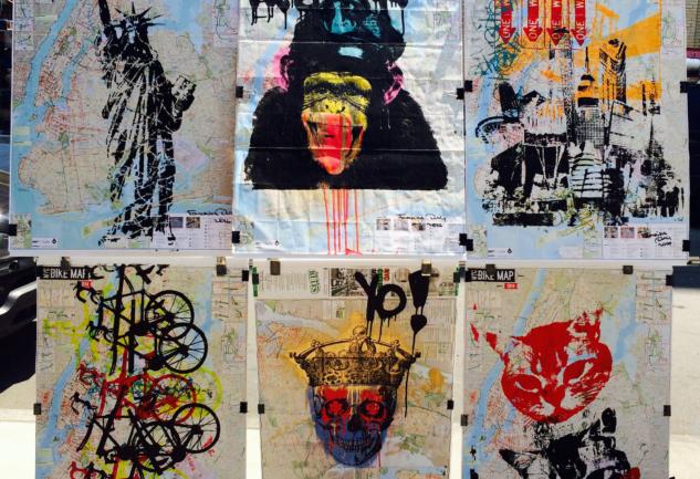 Bir Esintilik New York Sokak Sanatı