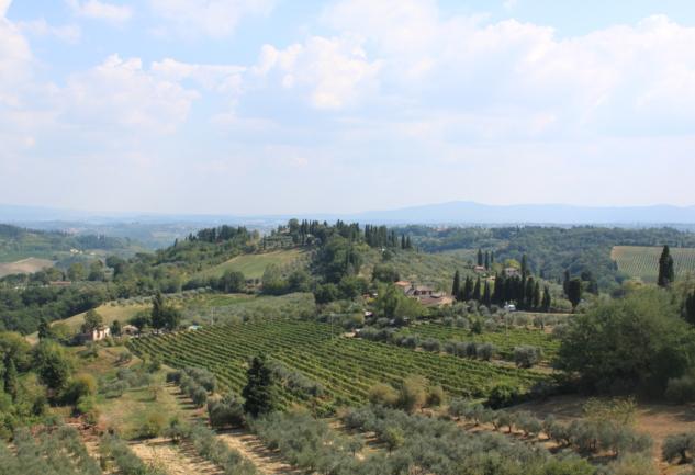 Huzur Bağlar Arasında, Toskana'da: 1.Bölüm