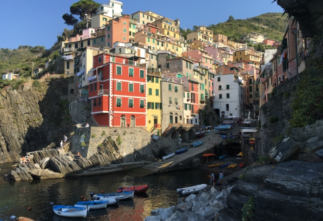 Cinqueterre'nin Büyüleyici Köyleri