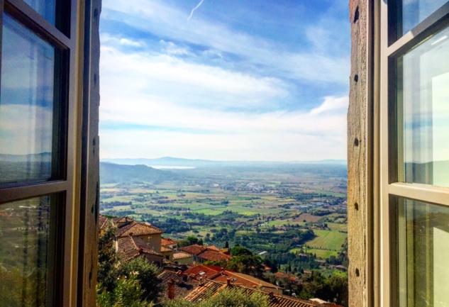 Toskana'nın Büyülü Kasabası: Cortona