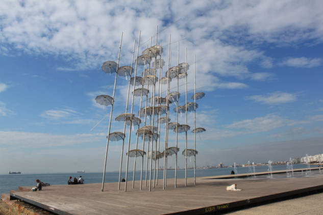 Umbrellas, George Zongolopoulos