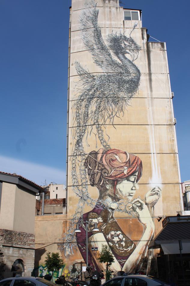 Selanik Sokak Sanatı
