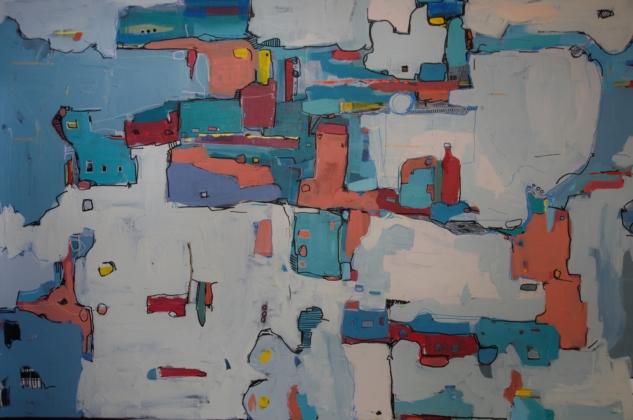 Kendime-Kentler-Tual-Uzerine-Karisik-Teknik-100×150-cm-20161
