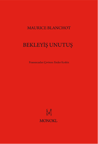 kitap – blanchot
