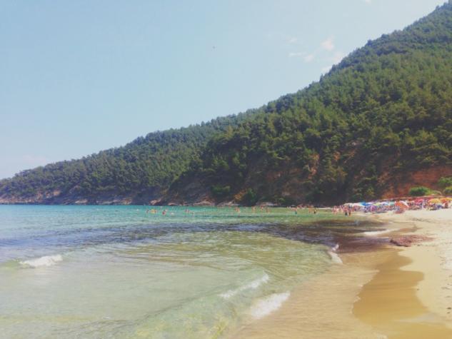 deniz tatili – thassos