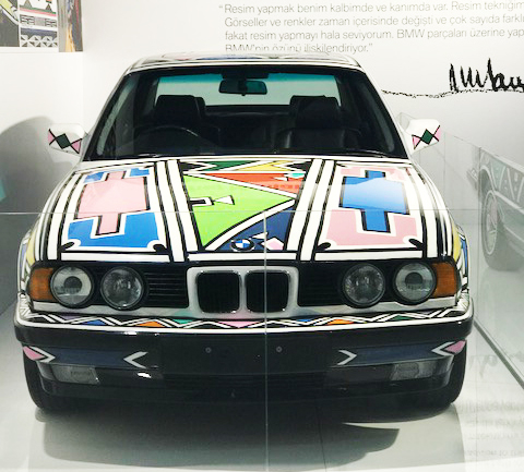 12. Contemporary Istanbul Kapsamında: BMW Art Car 12 ve Esther Mahlangu