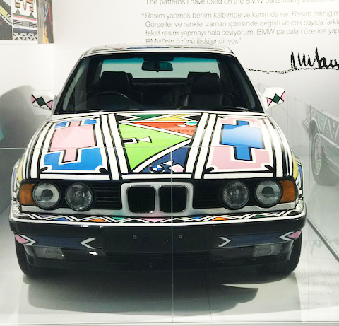 BMW Art Car Projesi