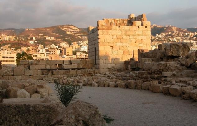Byblos-Castle-in-Beirut-Lebanon