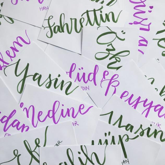Bengisu Yayla kaligrafi
