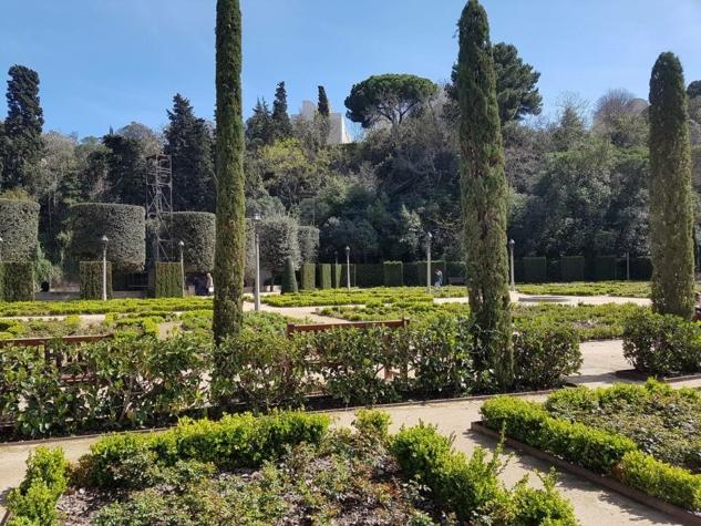 Jardin del Teatre Grec