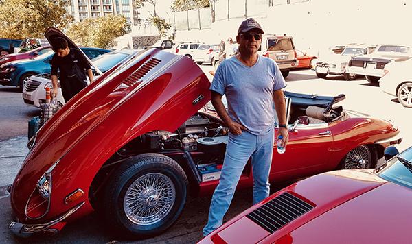 Leon Kalma Klasik E Type Jaguar