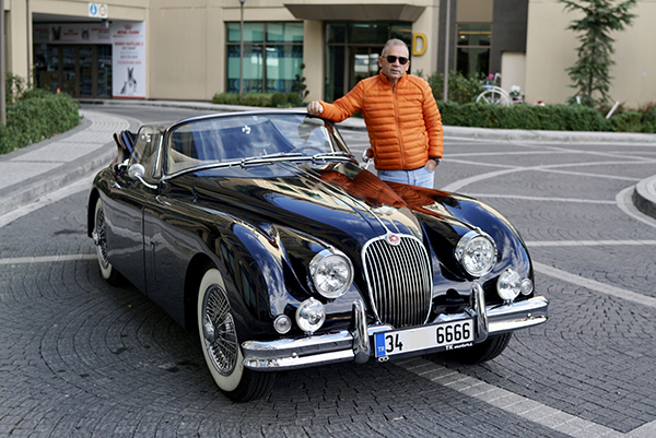 Leon Kalma Klasik Jaguar XK