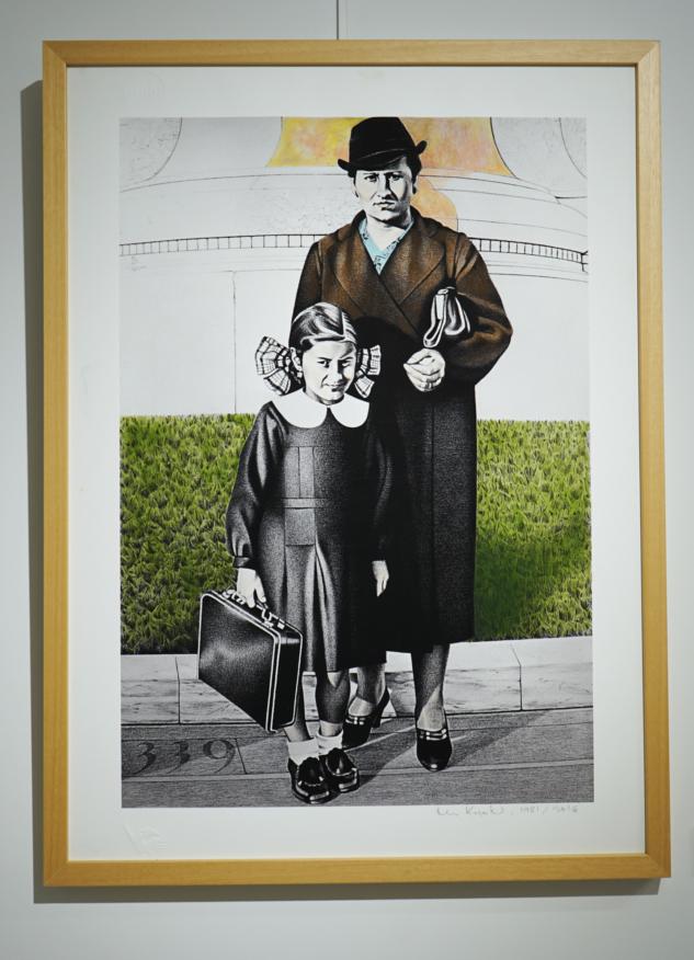 Nur Koçak - Ablam ve Annem Taksim Anıtı Önünde