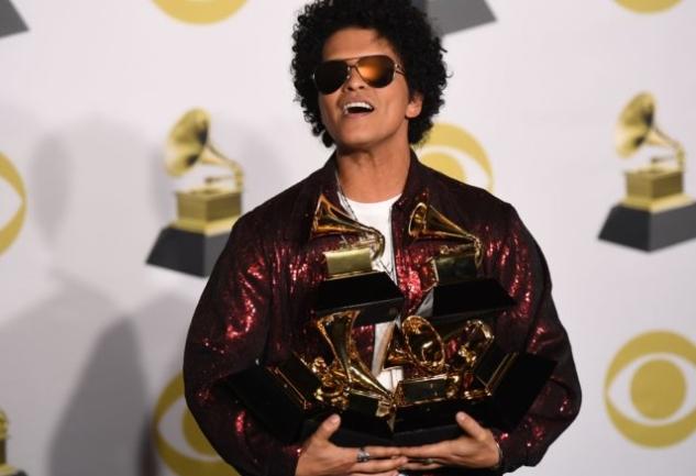 Grammy Ödülleri 2018: Bruno Mars'ın Zaferi