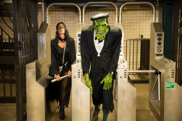 Bruno Barbey | New York City, ABD | Halloween, 2013