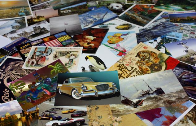 koleksiyon – kartpostal