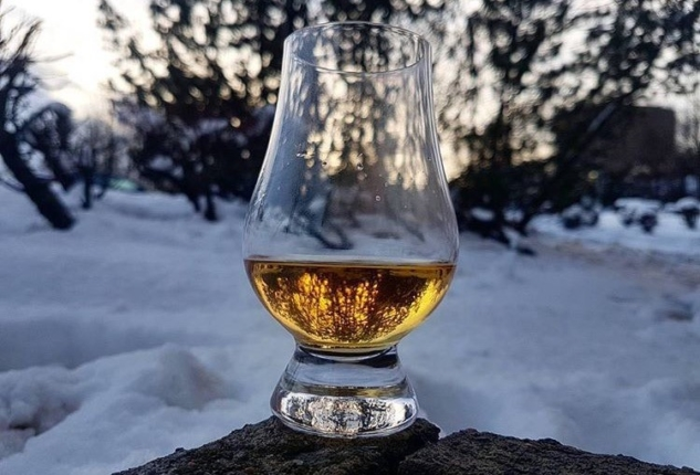 whisky snow